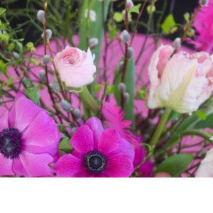 Vaaleanpunainen pääsiäiskimppu, medium