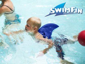 SwimFin Tummanharmaa