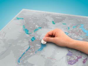 Scratch Map Platinum