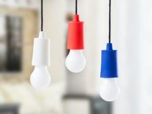 Spralla LED-lamppu Narussa 3-pakkaus Sininen