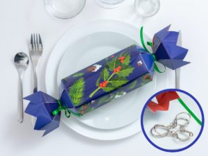 Christmas Crackers metallipulmalla 4-Pack