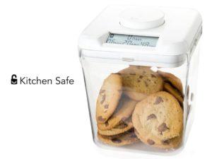 Kitchen Safe Punainen/Läpikuultava