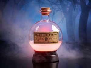 Harry Potter Polyjuice Potion Lamppu