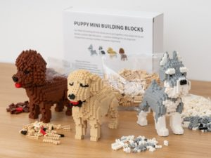 Koiranpentu Mini 3D-rakennussarja - Cockapoo