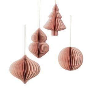 Joulukuusenkoriste, Deco roosa