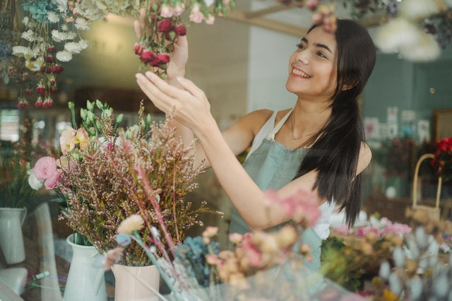 Kukkakaupan avaaminen voi olla todella jännittävää