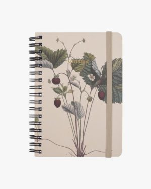 Berries Small 14,8x10,5 Cm Notebook, Multi, 15x11cm