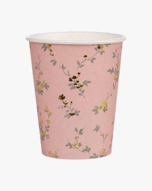 Beatrix 250 Ml Paper Cup 8pk, Roosa