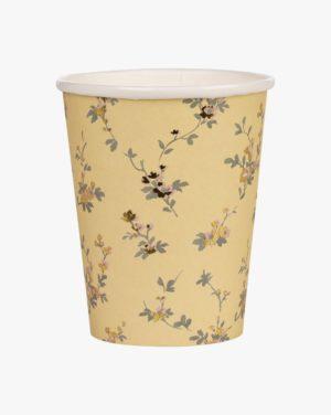 Beatrix 250 Ml Paper Cup 8pk, Keltainen