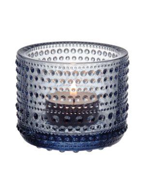 Kastehelmi-kynttilälyhty kierrätyslasia