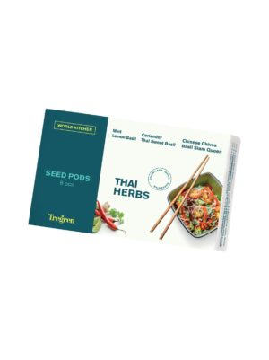 World Kitchen Thai Herbs -siemenkapselipakkaus