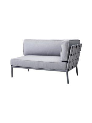 Conic -kahden istuttava sohva vasen moduli